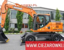 Doosan DX 140W-3 , 5k MTH ! , Q-C , supports , camera , A/C