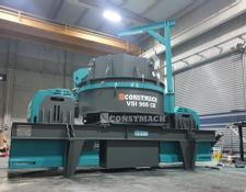 Constmach 250 TPH CAPACITY VERTICAL SHAFT IMPACT CRUSHER   VSI 900 CR