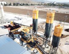 Fabo TURBOMIX-120 HIGH CAPACITY CONCRETE PLANT